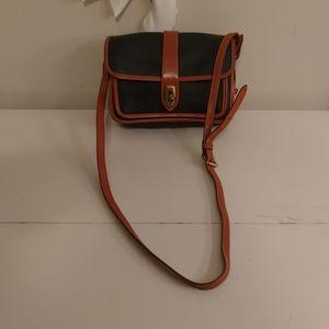 Dooney & Bourke vintage AWL saddlebag purse